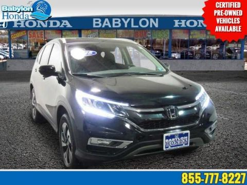 Certified Pre-Owned 2015 Honda CR-V Touring AWD